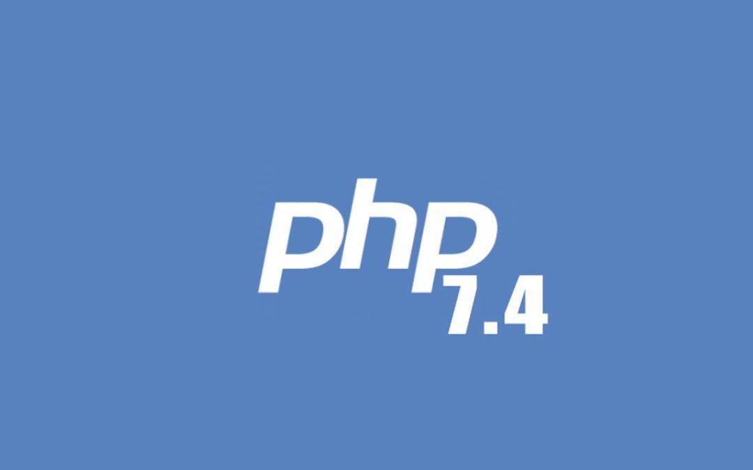 error PHP 7-4