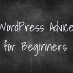 begin wordpress