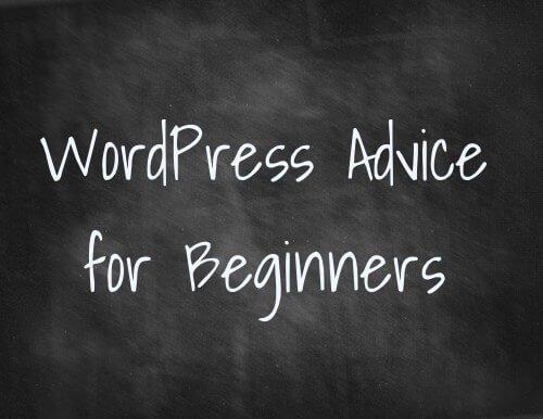 begin wordpress